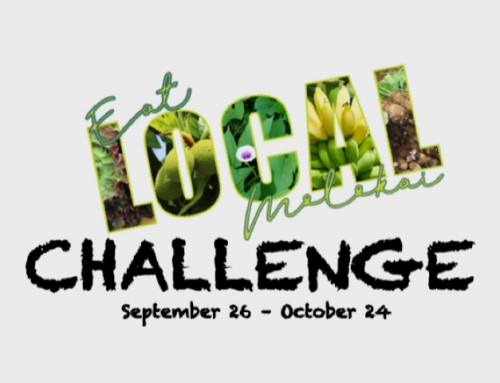 Announcing the 2019 Eat Local Molokai Challenge