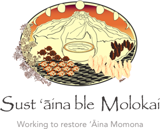 Sustainable Moloka'i Logo